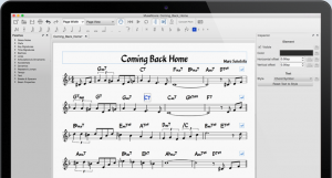 Screenshot of MuseScore