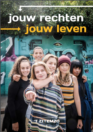 Cover of brochure 't Zitemzo: your rights, your life