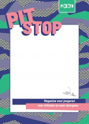 cover of the Pitstop magazine