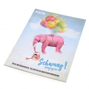 cover of the Schwung magazine