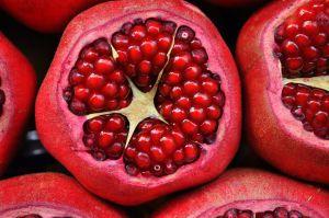 Photo pomegranate