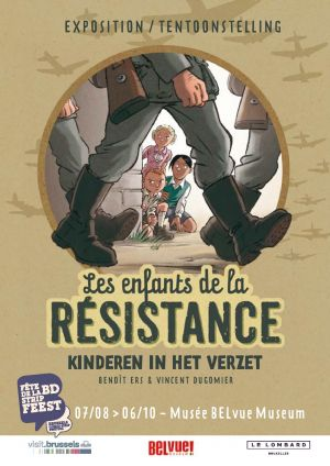 Poster exhibition Children in the Resistance