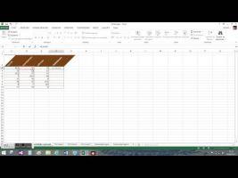 Screen shot spreadsheet