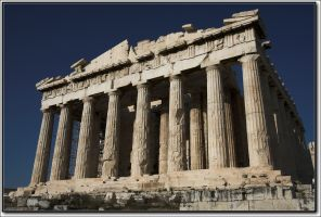 Greek Parthenon temple