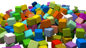 Colorful blocks