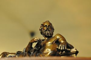 bronze statue Plato