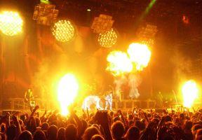 Concert of Rammstein