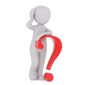 Figure with question mark