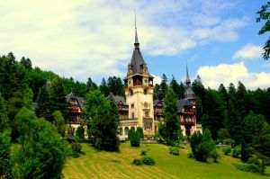 Castle in Romania