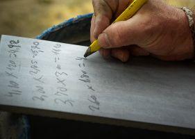 someone writing