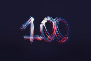 number one hundred